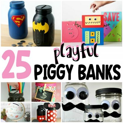 25 Playful Piggy Banks For Penny Pinching Kids
