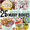 With flavors like unicorn poop, Minecraft, bubblegum and butterbeer, there's something in here for every kid...and the fun-loving adults in their lives. Enjoy! | #PlayIdeas #muddybuddies #puppychow #Chex #HarryPotter #childhood #recipes #fun #snackmix