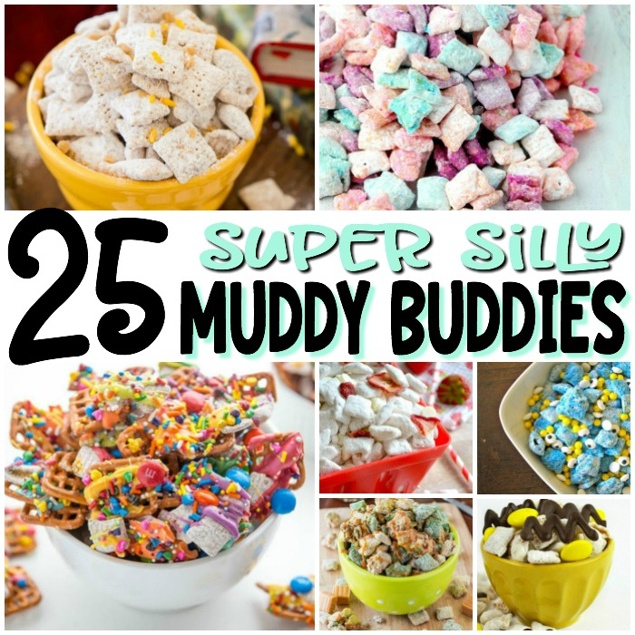 With flavors like unicorn poop, Minecraft, bubblegum and butterbeer, there's something in here for every kid...and the fun-loving adults in their lives. Enjoy!   #PlayIdeas #muddybuddies #puppychow #Chex #HarryPotter #childhood #recipes #fun #snackmix